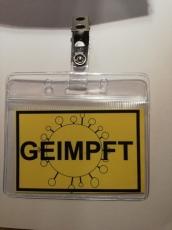 """""""Geimpft"""" Ausweis"""