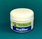 Teebaum-Salbe,  50 ml in der Dose
